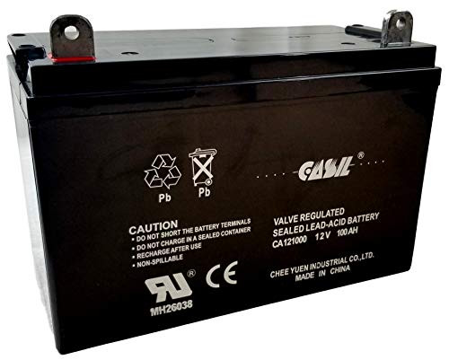 12V 200Ah 4D SLA AGM Battery Replacement for Solar Systems by Casil