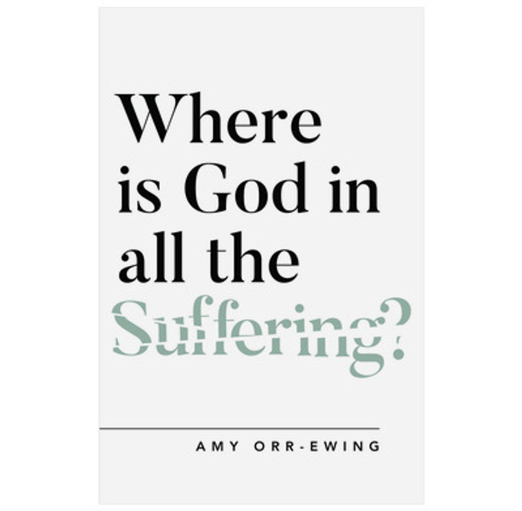 Where is God in all the Suffering