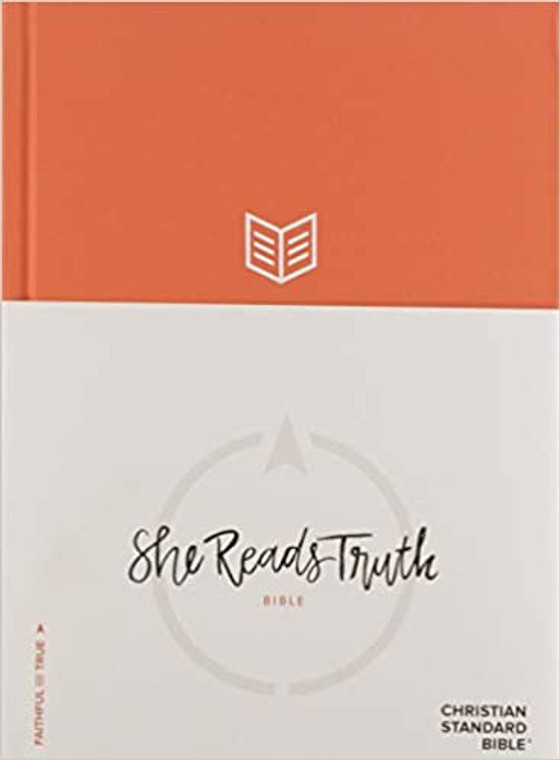 CSB She Reads Truth Bible Poppy