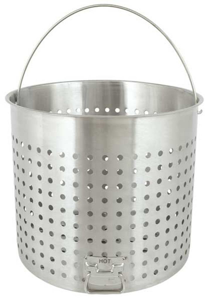 142 qt. Stainless Steel Stock Pot Basket - B142