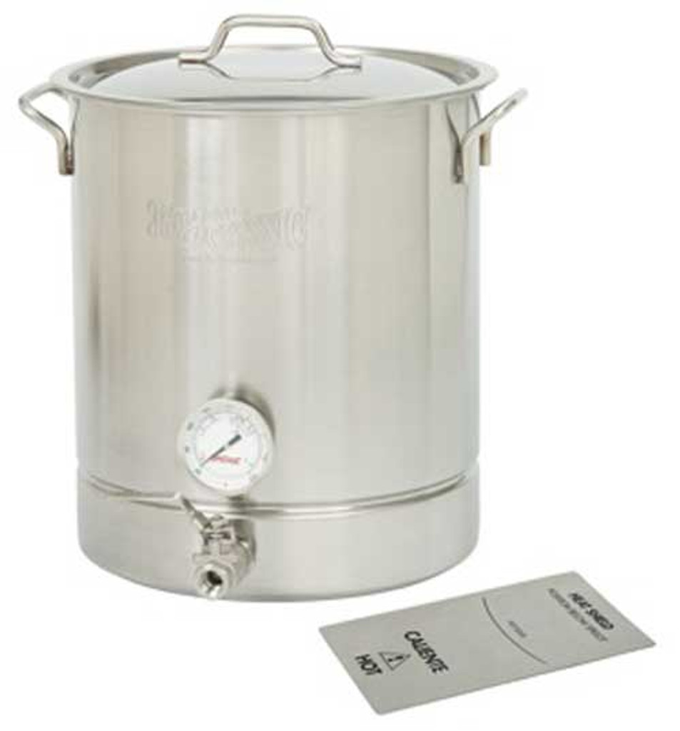 8 Gallon Stainless Steel 4 piece Brew Kettle Set 800-432