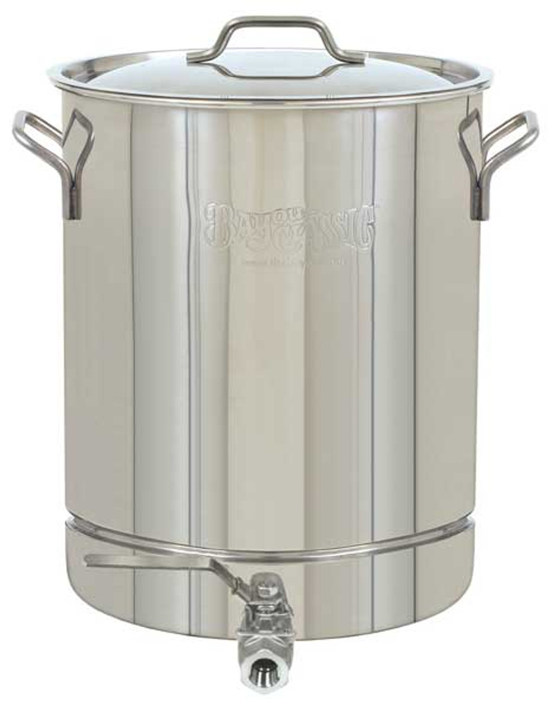 Bayou Classic 64 Quart Stainless Steel Stockpot with Spigot – 1064