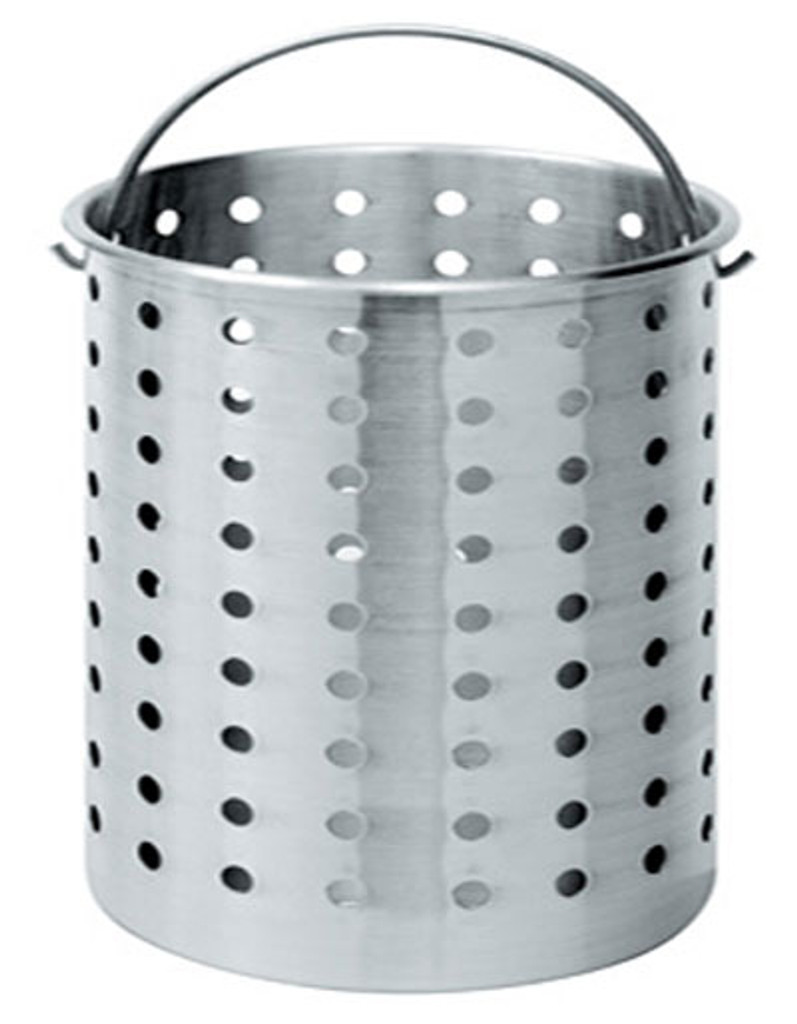 120 qt. Aluminum Stock Pot Basket - B120