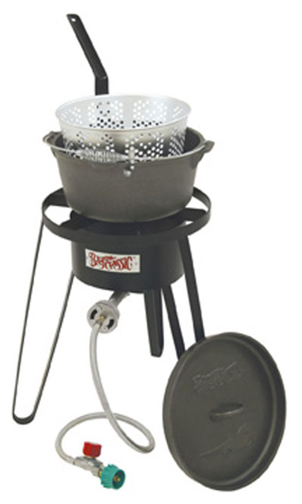 Bayou Classic Cast Iron Fish Cooker - B159
