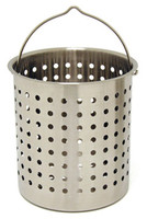 24 qt. Stainless Steel Stock Pot Basket - B124