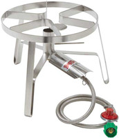 High Pressure Stainless Steel Jet Cooker w/ Flame Spreader - SS1
