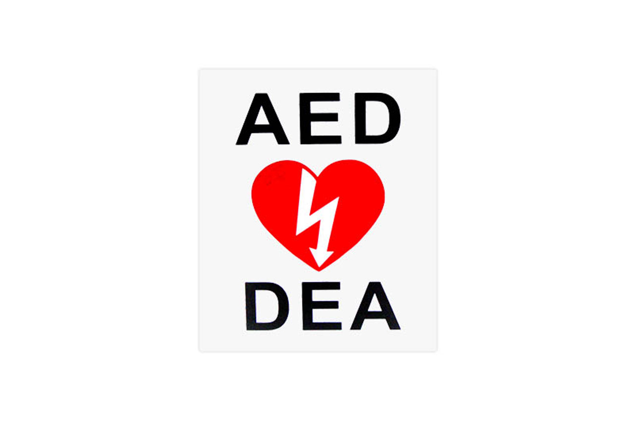 2-Way Wall Sign For AED's