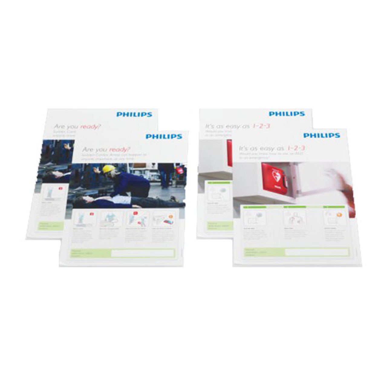 Philips AED Awareness Poster Pack