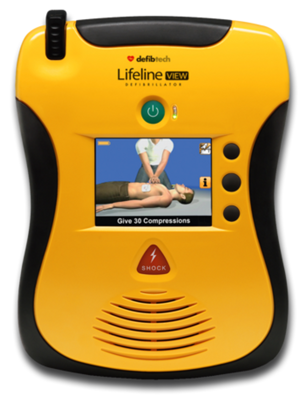 Defibtech VIEW AED (AVIATION Shipset)