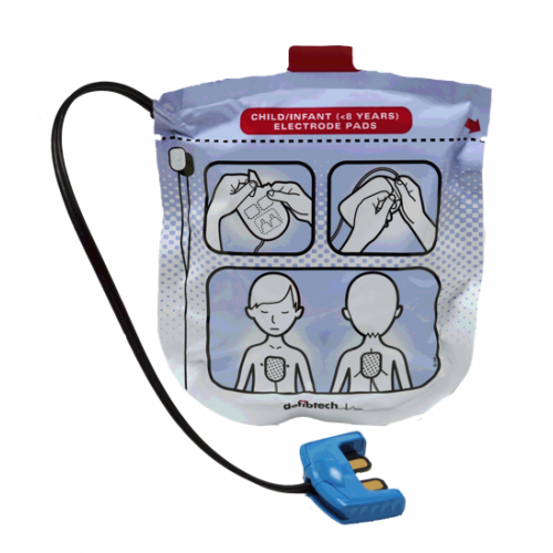Defibtech VIEW Pediatric Pads (<8 Years)