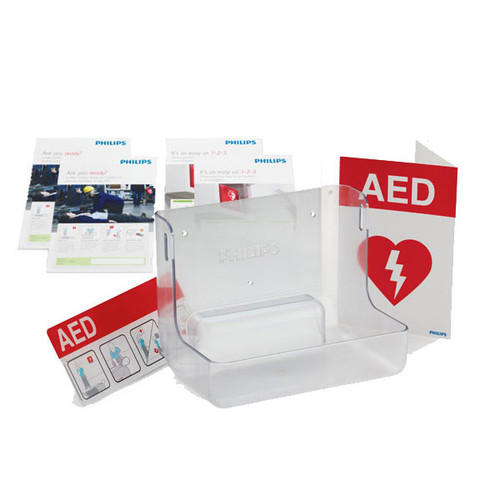 Philips AED Wall Mount & Signature Bundle