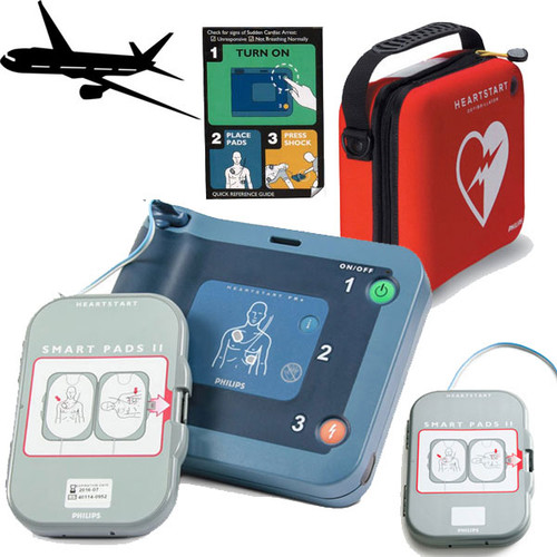 Philips HeartStart FRx AED Ready-Pack (AVIATION Shipset)