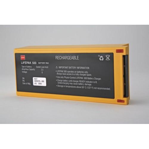 Lifepak 500 - 4 year battery