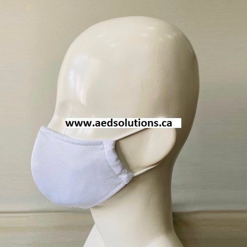 Personal Protective Face Mask w/o nose fit (White only)