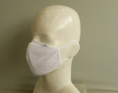 Personal Protective Face Mask - White (3-Layer)