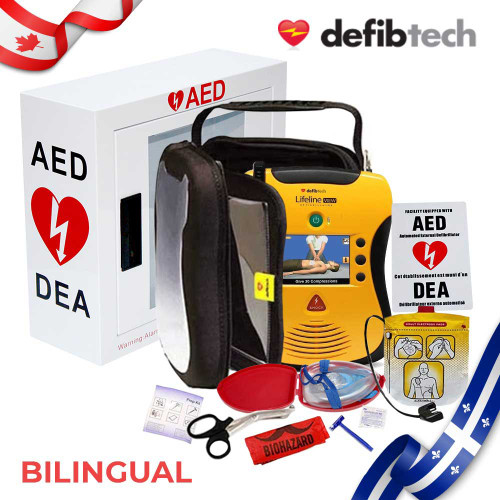 Defibtech View Bilingual Package