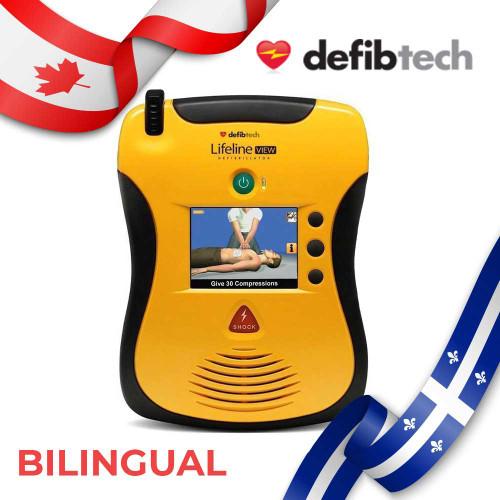 Defibtech View Bilingual