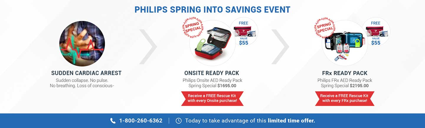 Philips AED's