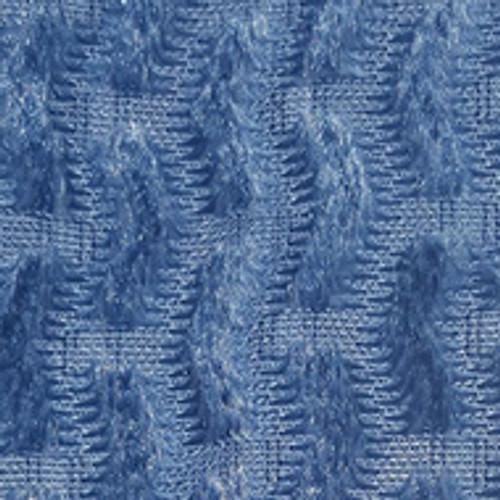 Textured Light Blue Chevron
