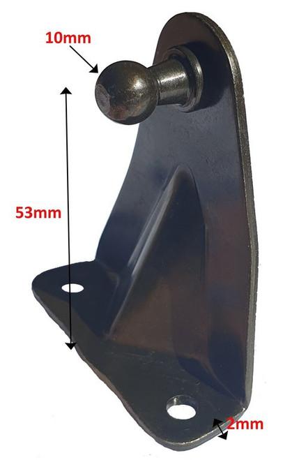 STEEL 90DEG BLACK PASSIVATE 2 HOLE-1