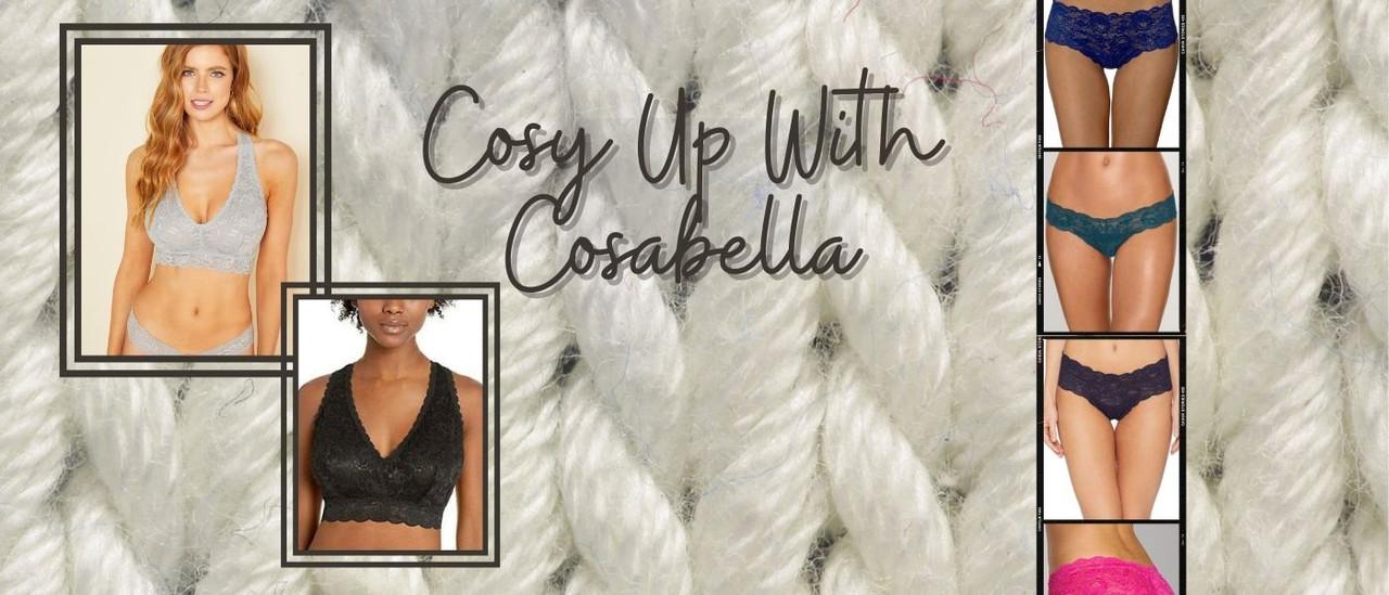 Cosabella Non wire bralettes
