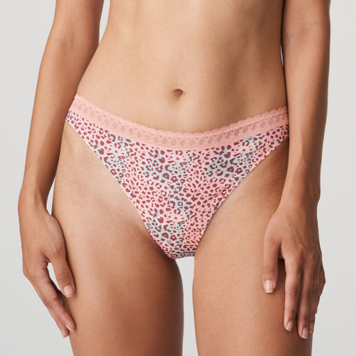 Prima Donna Twist Livadi Thong 0642010 Summer Rose Front