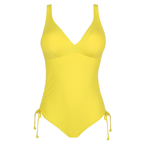 Prima Donna Swim Holiday Plunge Swimsuit 4007142 Yellow Front
