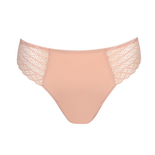 Prima Donna Twist East End Thong 0641930 Powder Rose Front