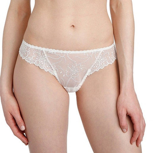 Marie Jo Jane Thong 0601330 Ivory Front