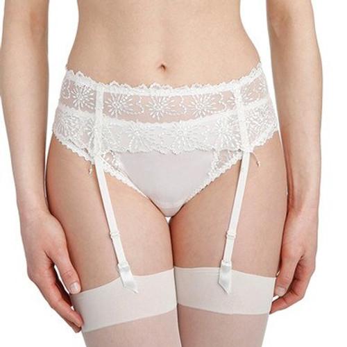Marie Jo Jane Suspender Belt 0701330 Ivory Front