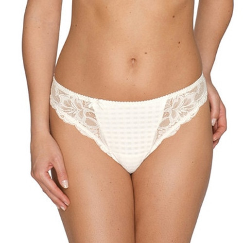 Prima Donna Madison Thong 0662120 Ivory Front