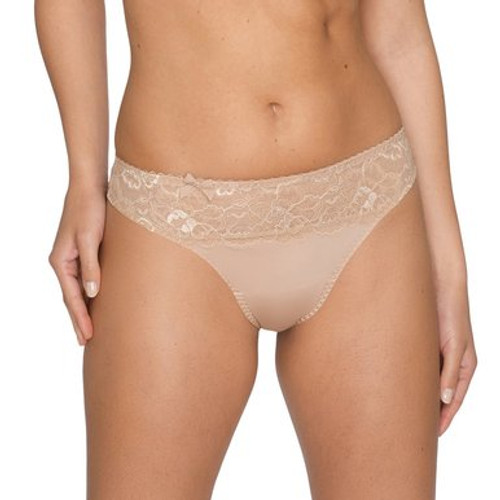 Prima Donna Couture Thong 0662580 Creme Front