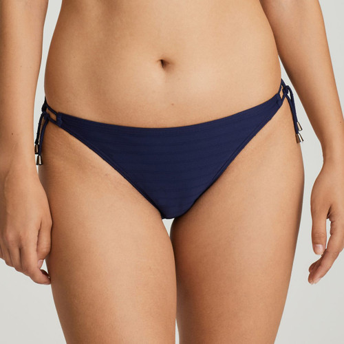 Prima Donna Swim Sherry Tie Side Bikini Briefs 4000253 Sapphire Blue Front