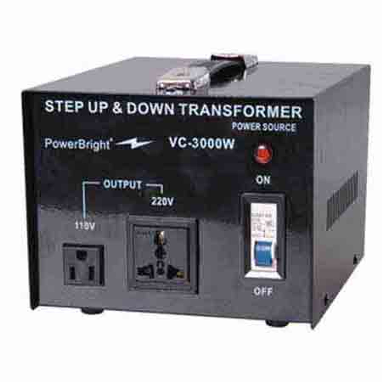 Step Up Step Down Transformer 3000w Power Solutions