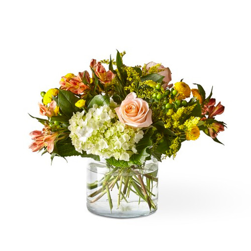 The FTD® Life's a Peach Bouquet - Deluxe