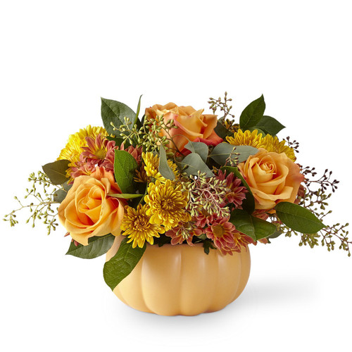 The FTD® Pumpkin Spice Forever Bouquet - Deluxe