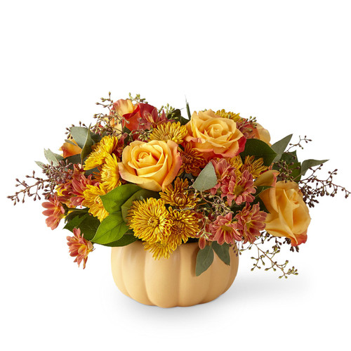 The FTD® Pumpkin Spice Forever Bouquet - Premium