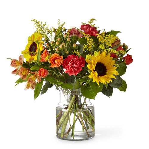 The FTD® Sunnycrisp Bouquet - Premium
