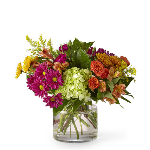 The FTD® Crisp & Bright Bouquet - Deluxe