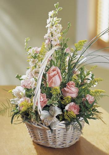 Blushing Beauty Basket