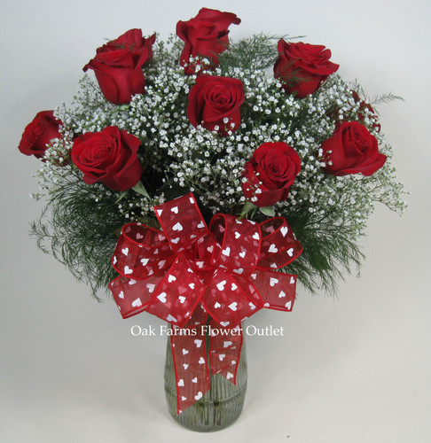 Say I Love You Red Rose Bouquet