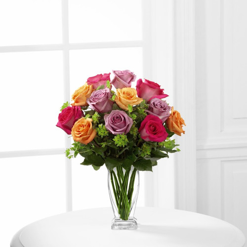 The FTD® Pure Enchantment™ Rose Bouquet Standard
