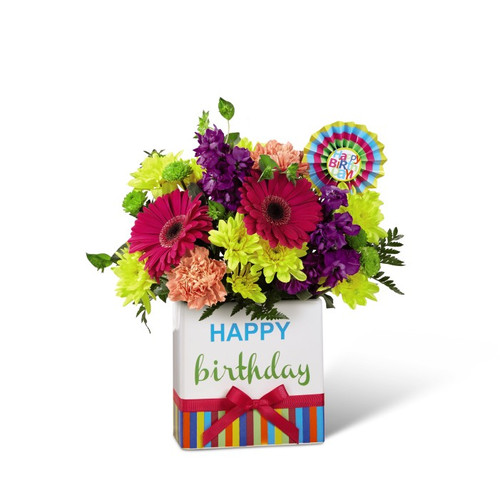 The FTD Birthday Brights Bouquet- Standard