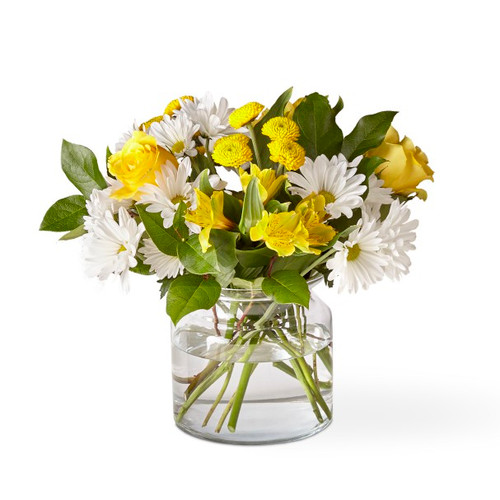 The FTD® Sunny Sentiments Bouquet - Standard
