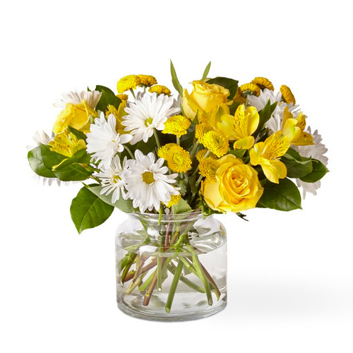 The FTD® Sunny Sentiments Bouquet - Deluxe