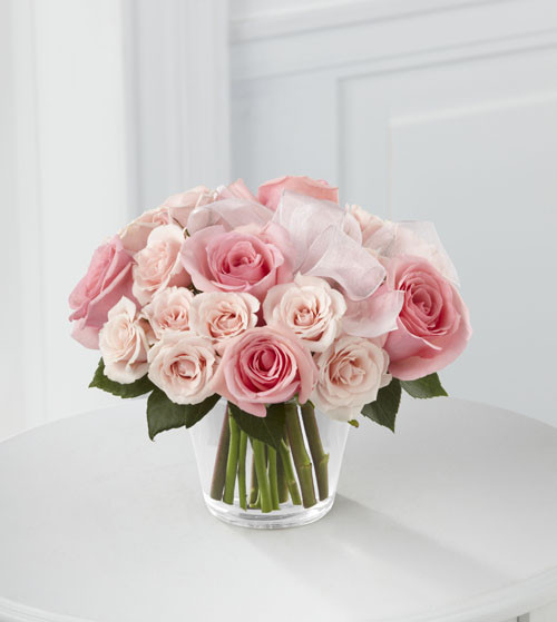 Pure Perfection Rose Bouquet