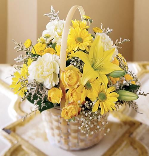 Flourishing Garden Basket