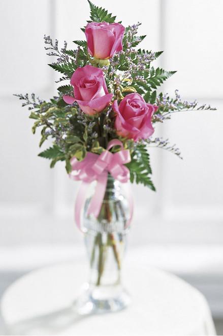 Triple Delight Rose Bouquet