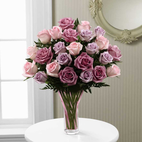 Radiant Mixed Rose Bouquet