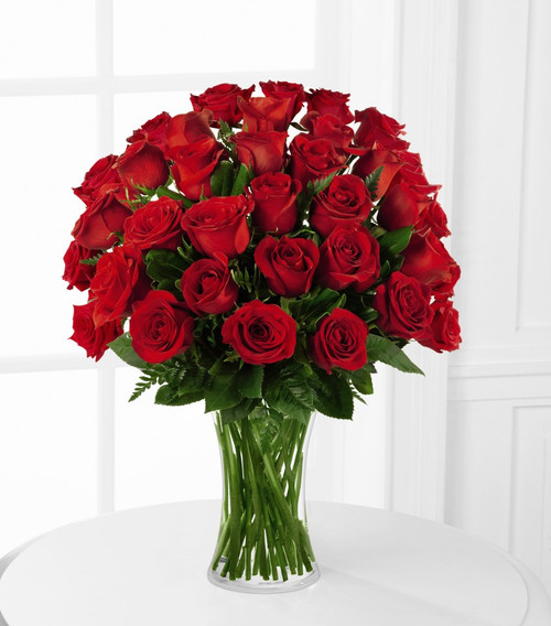 The FTD® Blooming Masterpiece™ Rose Bouquet - Elegant